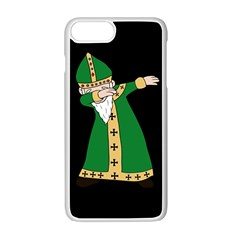 St  Patrick  Dabbing Apple Iphone 7 Plus Seamless Case (white) by Valentinaart