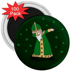 St  Patrick  Dabbing 3  Magnets (100 Pack) by Valentinaart