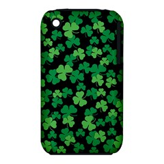 St  Patricks Day Clover Pattern Iphone 3s/3gs by Valentinaart
