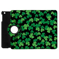St  Patricks Day Clover Pattern Apple Ipad Mini Flip 360 Case by Valentinaart