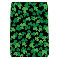 St  Patricks Day Clover Pattern Flap Covers (l)  by Valentinaart