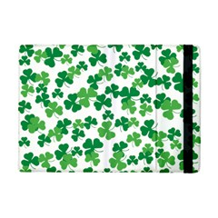St  Patricks Day Clover Pattern Apple Ipad Mini Flip Case by Valentinaart