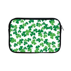 St  Patricks Day Clover Pattern Apple Ipad Mini Zipper Cases by Valentinaart