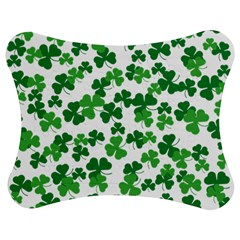 St  Patricks Day Clover Pattern Jigsaw Puzzle Photo Stand (bow) by Valentinaart