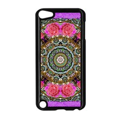 Roses In A Color Cascade Of Freedom And Peace Apple Ipod Touch 5 Case (black) by pepitasart