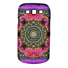 Roses In A Color Cascade Of Freedom And Peace Samsung Galaxy S Iii Classic Hardshell Case (pc+silicone) by pepitasart