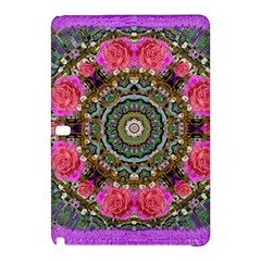 Roses In A Color Cascade Of Freedom And Peace Samsung Galaxy Tab Pro 10 1 Hardshell Case by pepitasart