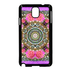 Roses In A Color Cascade Of Freedom And Peace Samsung Galaxy Note 3 Neo Hardshell Case (black) by pepitasart