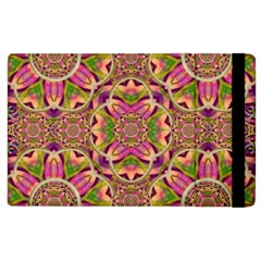 Jungle Flowers In Paradise  Lovely Chic Colors Apple Ipad 3/4 Flip Case by pepitasart