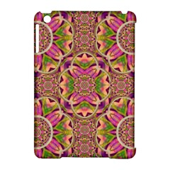 Jungle Flowers In Paradise  Lovely Chic Colors Apple Ipad Mini Hardshell Case (compatible With Smart Cover) by pepitasart