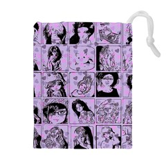 Lilac Yearbook 2 Drawstring Pouches (extra Large) by snowwhitegirl