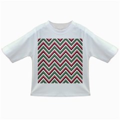 Chevron Blue Pink Infant/toddler T Shirts by snowwhitegirl