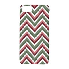 Chevron Blue Pink Apple Iphone 8 Hardshell Case by snowwhitegirl