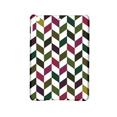 Zigzag Chevron Pattern Green Purple Ipad Mini 2 Hardshell Cases by snowwhitegirl