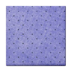 Dot Blue Tile Coasters