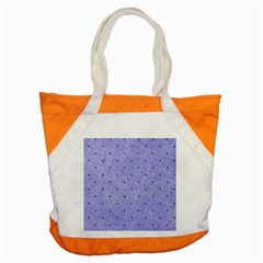 Dot Blue Accent Tote Bag