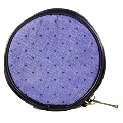 Dot Blue Mini Makeup Bags