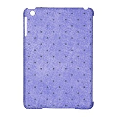 Dot Blue Apple Ipad Mini Hardshell Case (compatible With Smart Cover) by snowwhitegirl