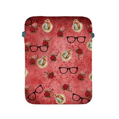 Vintage Glasses Rose Apple Ipad 2/3/4 Protective Soft Cases by snowwhitegirl