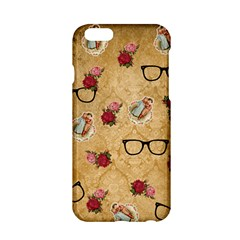 Vintage Glasses Beige Apple Iphone 6/6s Hardshell Case by snowwhitegirl