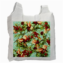 Fruit Blossom Recycle Bag (two Side)