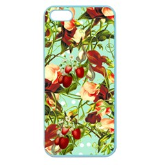Fruit Blossom Apple Seamless Iphone 5 Case (color) by snowwhitegirl