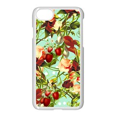 Fruit Blossom Apple Iphone 8 Seamless Case (white) by snowwhitegirl