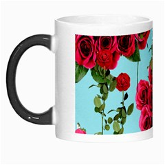 Roses Blue Morph Mugs