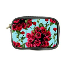 Roses Blue Coin Purse
