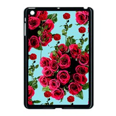 Roses Blue Apple Ipad Mini Case (black) by snowwhitegirl