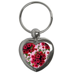 Roses Pink Key Chains (heart)