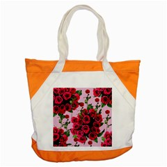 Roses Pink Accent Tote Bag