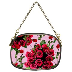 Roses Pink Chain Purses (two Sides)  by snowwhitegirl