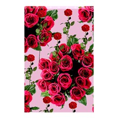 Roses Pink Shower Curtain 48  X 72  (small)