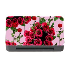 Roses Pink Memory Card Reader With Cf by snowwhitegirl
