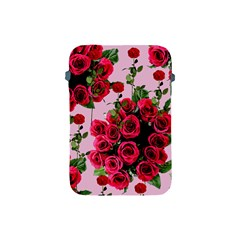 Roses Pink Apple Ipad Mini Protective Soft Cases by snowwhitegirl