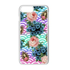 Floral Waves Apple Iphone 7 Plus Seamless Case (white) by snowwhitegirl