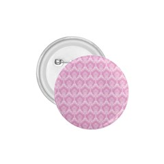 Damask Pink 1 75  Buttons