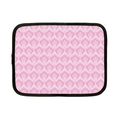 Damask Pink Netbook Case (small)  by snowwhitegirl