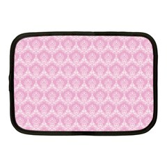 Damask Pink Netbook Case (medium)  by snowwhitegirl
