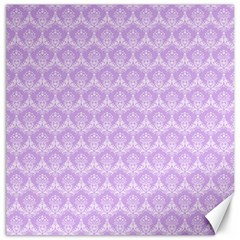 Damask Lilac Canvas 20  X 20   by snowwhitegirl