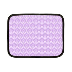 Damask Lilac Netbook Case (small)  by snowwhitegirl