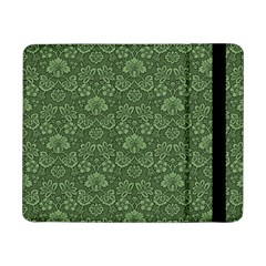 Damask Green Samsung Galaxy Tab Pro 8 4  Flip Case by snowwhitegirl