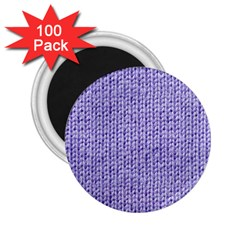 Knitted Wool Lilac 2 25  Magnets (100 Pack)  by snowwhitegirl