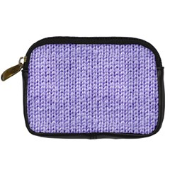 Knitted Wool Lilac Digital Camera Cases by snowwhitegirl