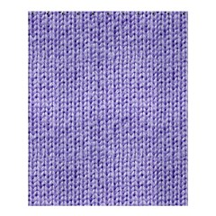Knitted Wool Lilac Shower Curtain 60  X 72  (medium)  by snowwhitegirl