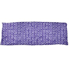 Knitted Wool Lilac Body Pillow Case (dakimakura) by snowwhitegirl