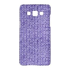 Knitted Wool Lilac Samsung Galaxy A5 Hardshell Case