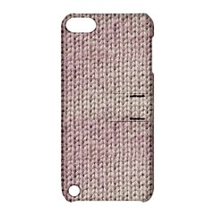 Knitted Wool Pink Light Apple Ipod Touch 5 Hardshell Case With Stand by snowwhitegirl