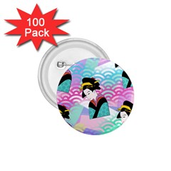 Japanese Abstract 1 75  Buttons (100 Pack)  by snowwhitegirl